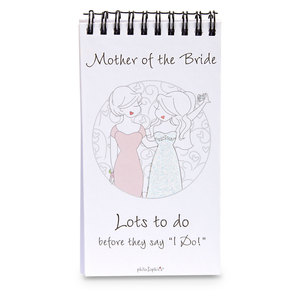 Mother of the Bride by philoSophies - 80 Page Notepad with Easel