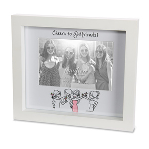 "Girlfriends by philoSophies - 9"" x8"" Frame (Holds 6"" x 4"" Photo)"