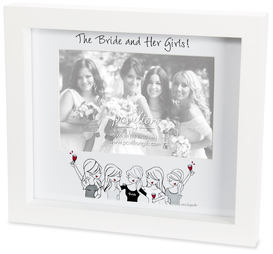 "Her Girls by philoSophies - 9"" x8"" Frame (Holds 6"" x 4"" Photo)"