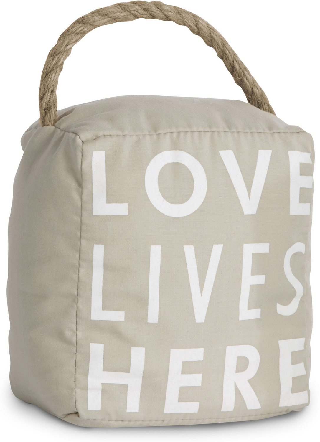 Love Lives Here by Open Door Decor - <em>Love</em> - Simple & Functional Door Stopper -