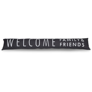 "Welcome by Open Door Decor - 6.7"" x 36.6"" Draft Stopper"