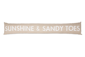 "Sandy Toes by Open Door Decor - 6.75"" x 36.5"" Draft Stopper"