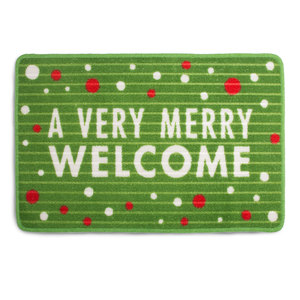 "Welcome by Open Door Decor - 27.5"" x 17.75""   Floor Mat"