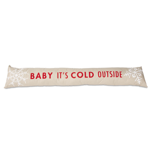 "Baby It's Cold by Open Door Decor - 6.75"" x 36.5"" Draft Stopper"
