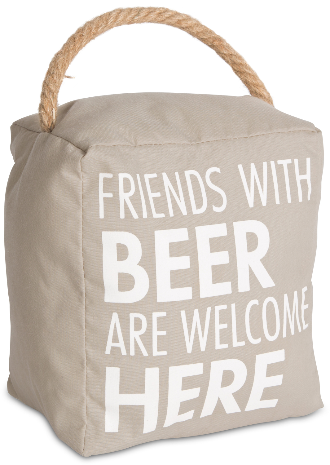 "Beer by Open Door Decor - Beer - 5"" x 6"" Door Stopper"