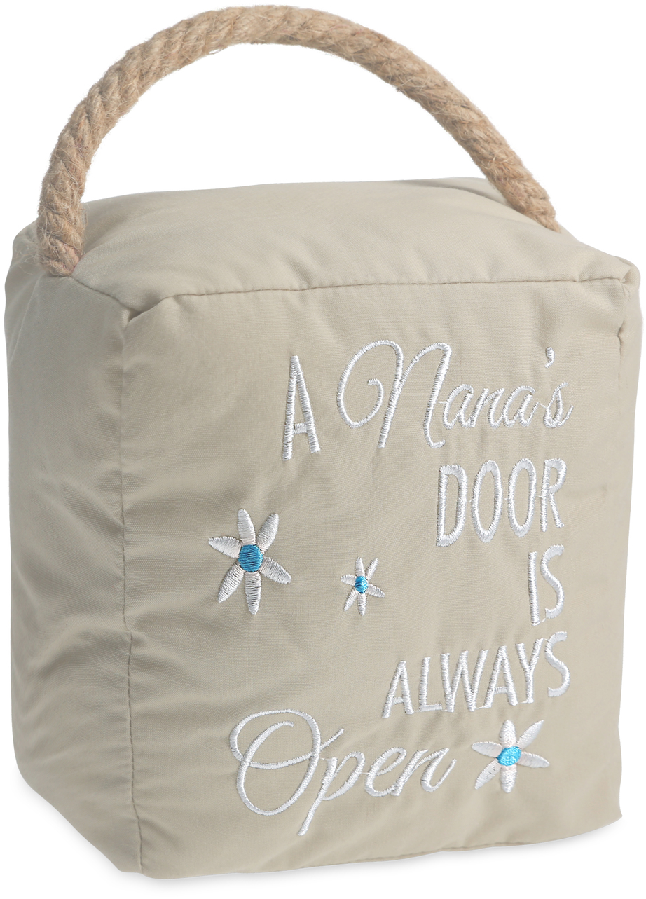 "Nana's by Open Door Decor - Nana's - 5"" x 6"" Door Stopper"