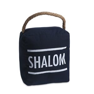 "Shalom by Open Door Decor - 5"" x 6"" Door Stopper"