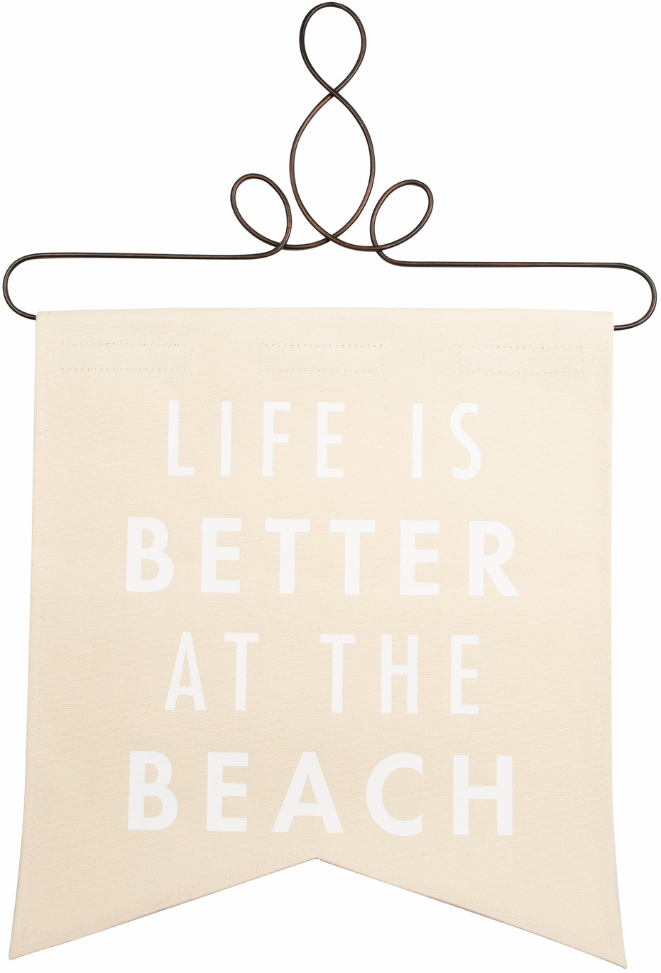 "At the Beach by Open Door Decor - At the Beach - 14"" x 16"" Banner"
