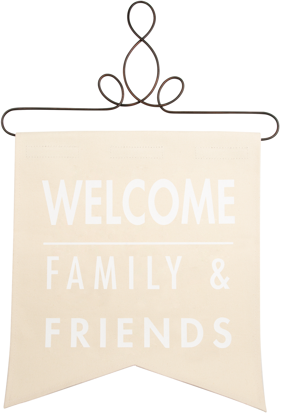 "Welcome by Open Door Decor - Welcome - 14"" x 16"" Banner"