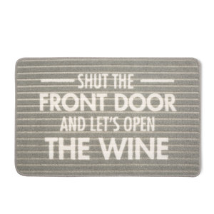 "Open Wine by Open Door Decor - 27.5"" x 17.75"" Floor Mat"