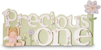 "Precious One by Cutie Patootie - 4""x8.5"" Self-Standing Plaque"