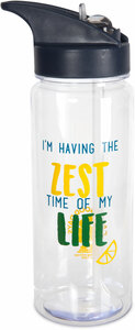 Zest Time by Livin' on the Wedge - 24 oz. Water Bottle