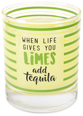Tequila by Livin' on the Wedge - 10 oz. Glass / Tea Light Holder