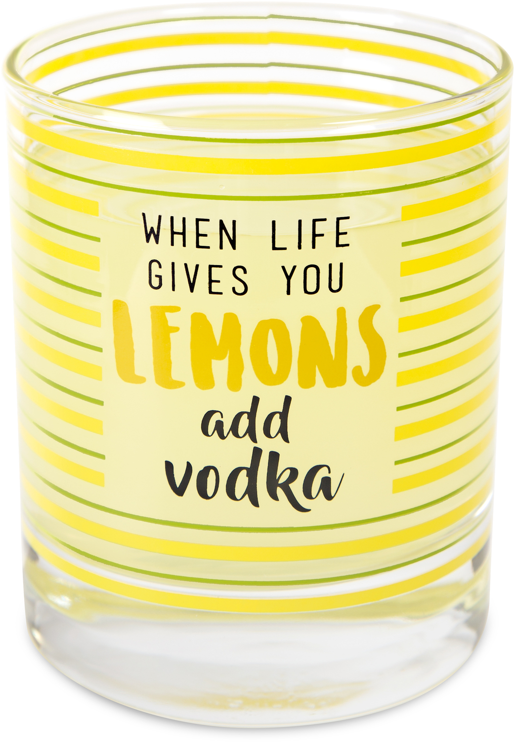 Vodka by Livin' on the Wedge - Vodka - 10 oz. Glass / Tea Light Holder