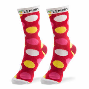 Pink Lemonade by Livin' on the Wedge - Ladies Cotton Blend Sock