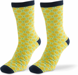 Juicy by Livin' on the Wedge - Mens Cotton Blend Sock