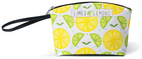 "Main Squeeze- White by Livin' on the Wedge - 9.25"" x 2.5"" x 6"" Small Nylon Bag"