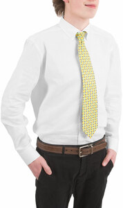 Sublime- Gray by Livin' on the Wedge - Men's Classic Silk Tie