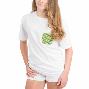 Squeeze the Day by Livin' on the Wedge - S- 100% Cotton Soft Wash Unisex Pocket T-Shirt
