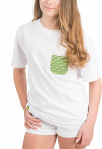 Squeeze the Day by Livin' on the Wedge - L- 100% Cotton Soft Wash Unisex Pocket T-Shirt