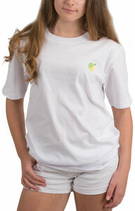 Limes or Lemons by Livin' on the Wedge - L- 100% Cotton Soft Wash Unisex T-Shirt