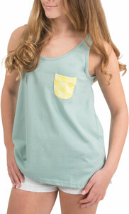 Zesty by Livin' on the Wedge - L- Swing Style Soft Cotton Blend Tank