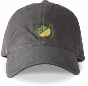 Limes or Lemons Icon by Livin' on the Wedge - Dark Gray Adjustable Hat