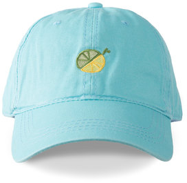 Limes or Lemons Icon by Livin' on the Wedge - Light Blue Adjustable Hat