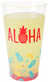 Aloha by Livin' on the Wedge - 16 oz Pint Glass Tumbler