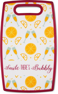 "There's Bubbly by Livin' on the Wedge - 9"" x 14.5"" Cutting Board"