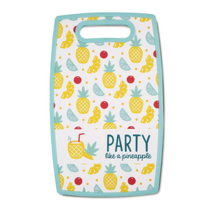 "Party by Livin' on the Wedge - 9"" x 14.5"" Cutting Board"