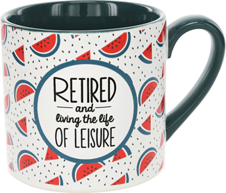 Living the Life by Livin' on the Wedge - 15 oz Mug