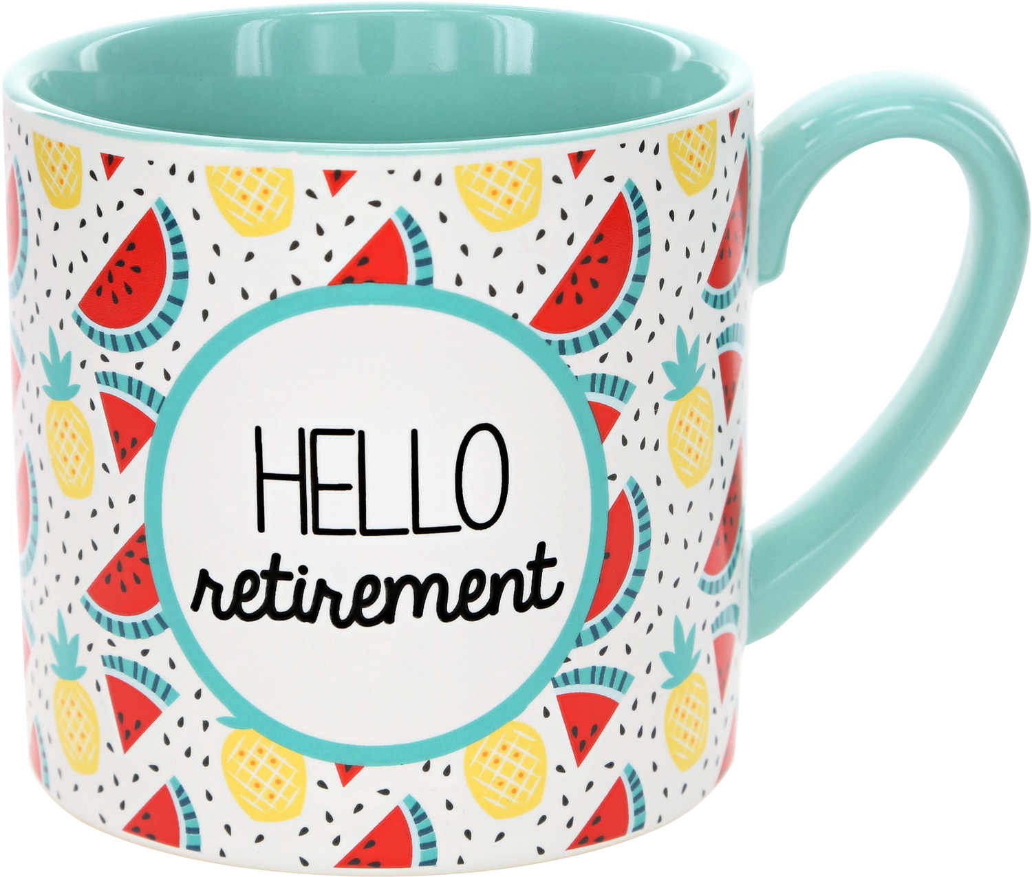Hello Retirement by Livin' on the Wedge - Hello Retirement - 15 oz Mug