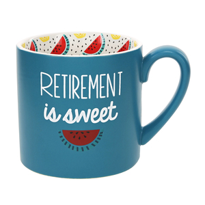 Retirement is Sweet by Livin' on the Wedge - 15 oz Mug