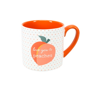 To Peaches by Livin' on the Wedge - 15 oz Mug