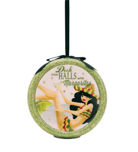 Deck the Halls by Hiccup - 120mm Blinking Ornament