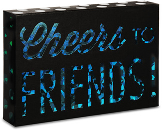 "Friends by Hiccup - 6"" x 4"" Plaque"
