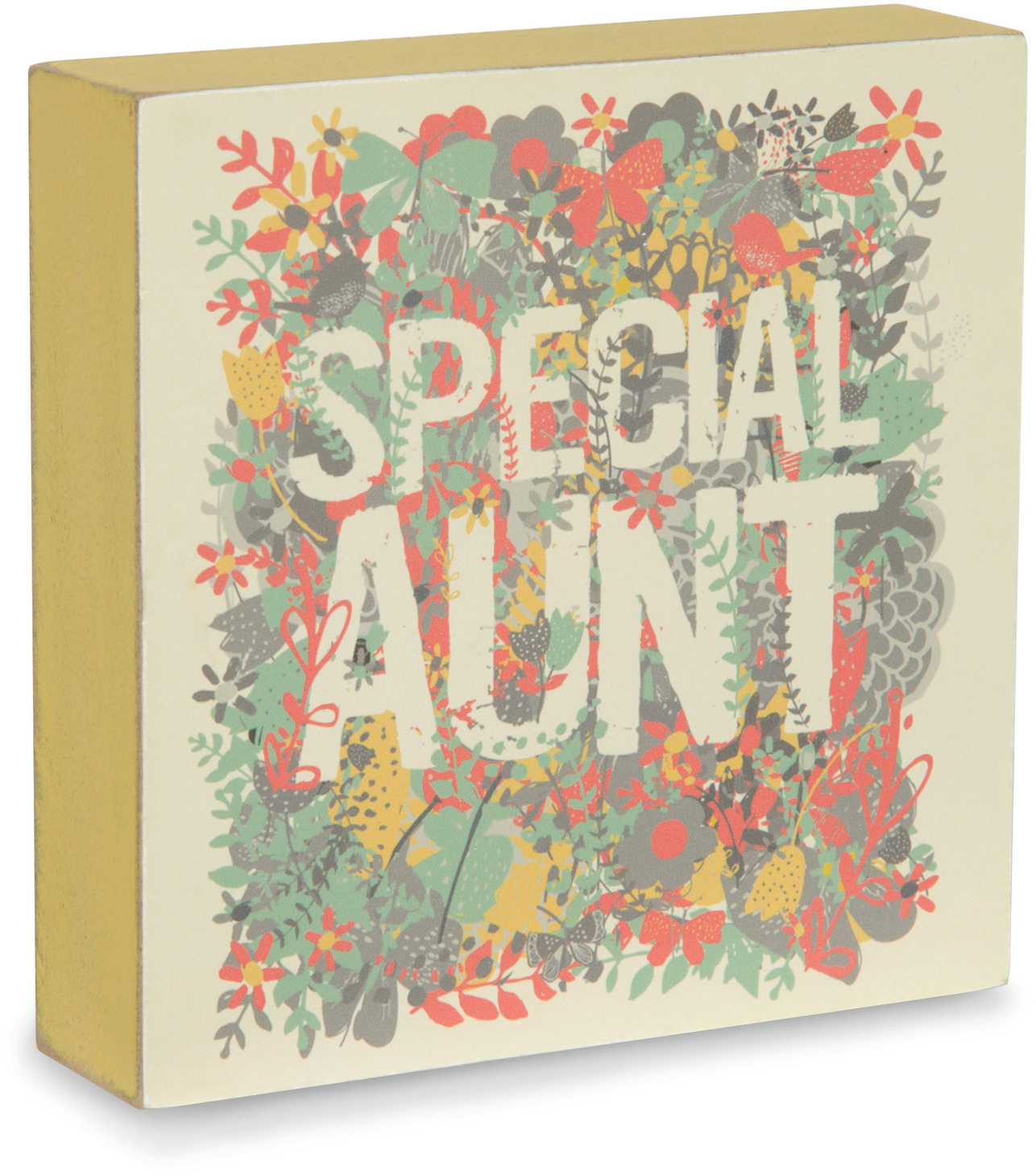 Special Aunt by Bloom by Amylee Weeks - <em>Aunt</em> - Mini Plaque & Wall Art -