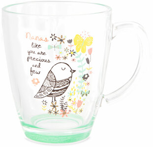 Nana by Bloom by Amylee Weeks - 12.5oz Glass Cup