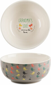 "Grandma by Bloom by Amylee Weeks - 2.75""x 6"" Ceramic Bowl"