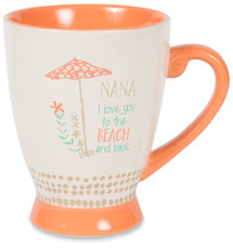 Nana by Seaside Bloom - 18 oz Cup