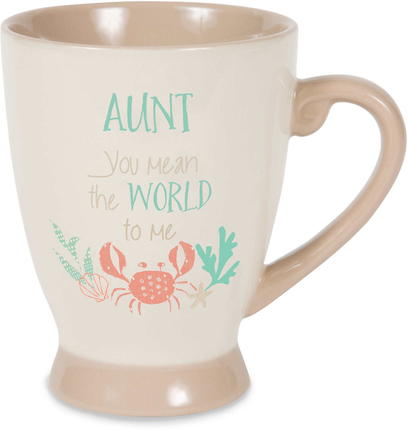 Aunt by Seaside Bloom - Aunt - 18 oz Cup