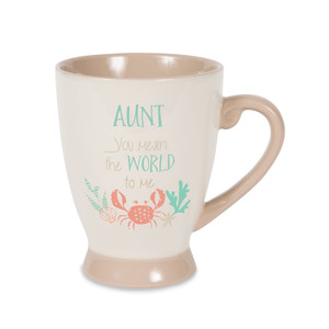 Aunt by Seaside Bloom - 18 oz Cup