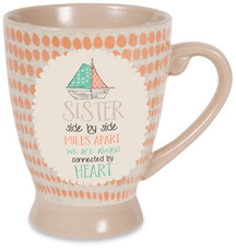Sister by Seaside Bloom - 18 oz Cup
