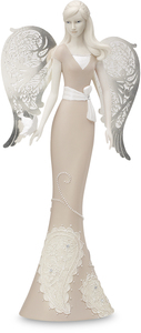 "Friend by Little Things Mean A Lot - 10"" Angel Holding Butterfly"