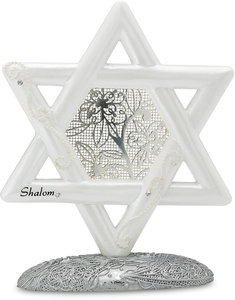 "Star of David by Little Things Mean A Lot - 5"" Self Standing Star"