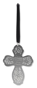 "Jesus is the Reason by Little Things Mean A Lot - 3.5"" Cross Ornament"