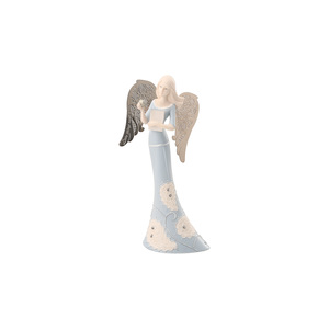 "Teacher by Little Things Mean A Lot - 6"" Angel Holding Book"