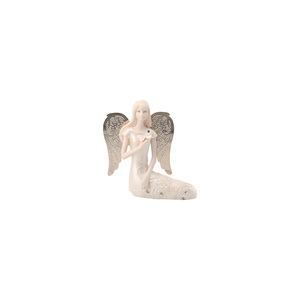 "September Birthstone Angel by Little Things Mean A Lot - 3.5"" September Angel w/ Sapphire Butterfly"