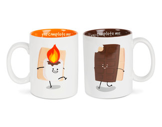 S'mores by Late Night Snacks - 18 oz Mug Set